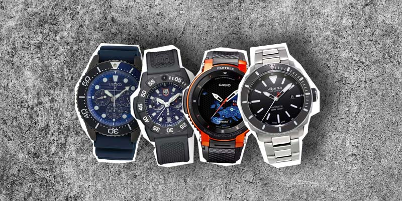 Relojes de hombre para exteriores: moderno y funcional