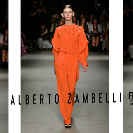 Alberto Zambelli: Flamboyant Fashion Looks of Fashion Week Milan SS18