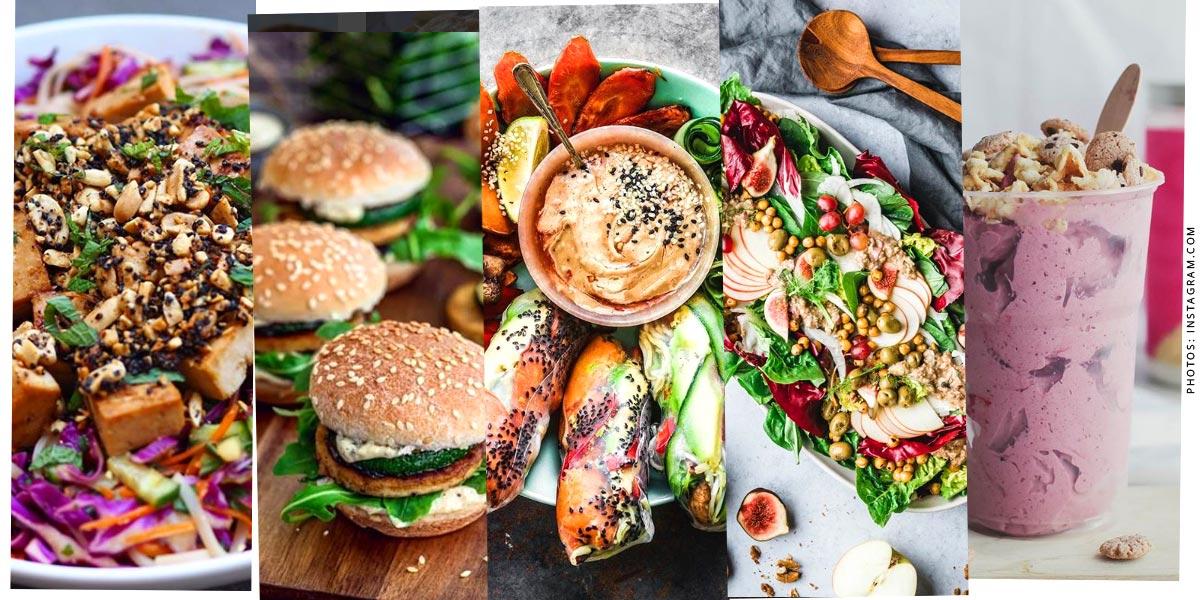 Comida vegetariana en Londres - deliciosa!