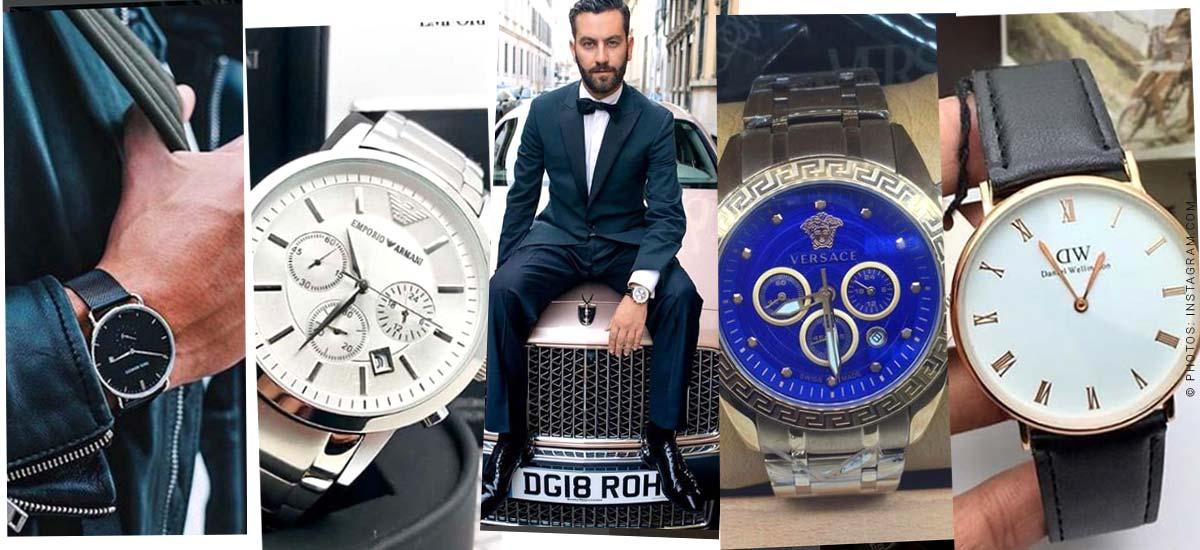 Relojes para hombre - La tendencia de moda para hombre