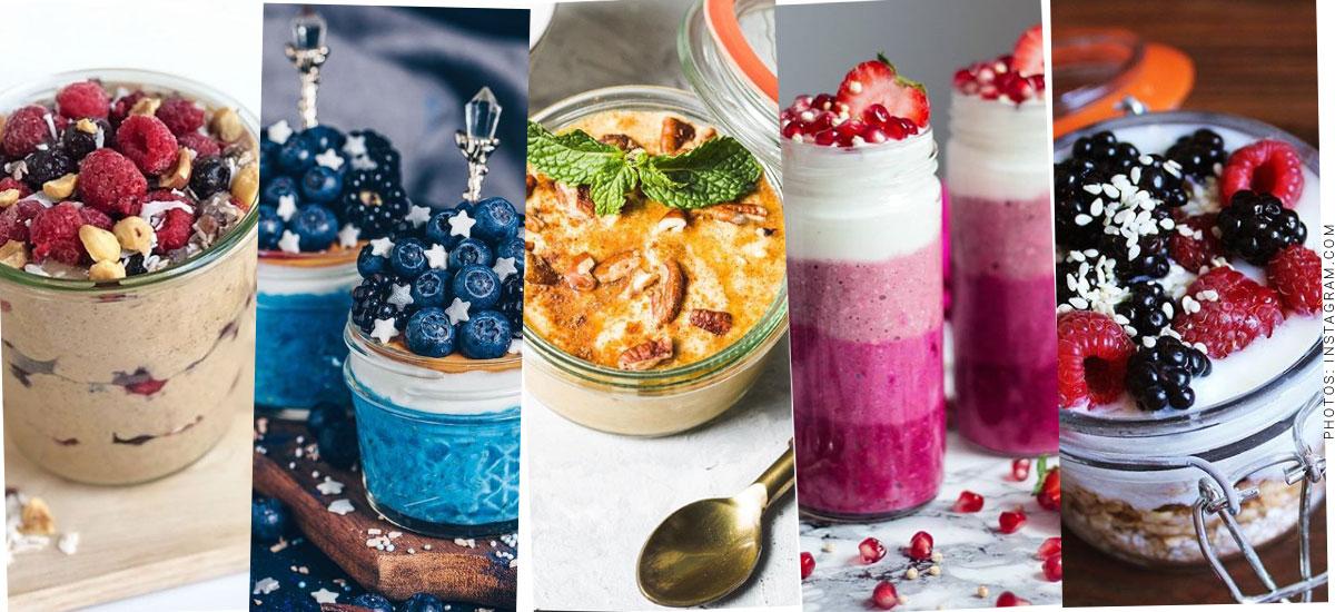 Overnight-Oats: El consejo privilegiado de los Bloggers de Fitness