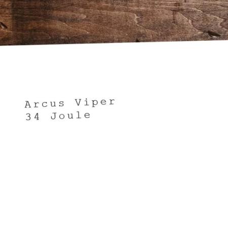 La pistola de CO2 más fuerte y mejor: Arcus Viper - 34 Joule