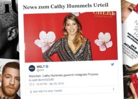Cathy Hummels gana un juicio en Munich: Publicidad en Instagram – Sentencia
