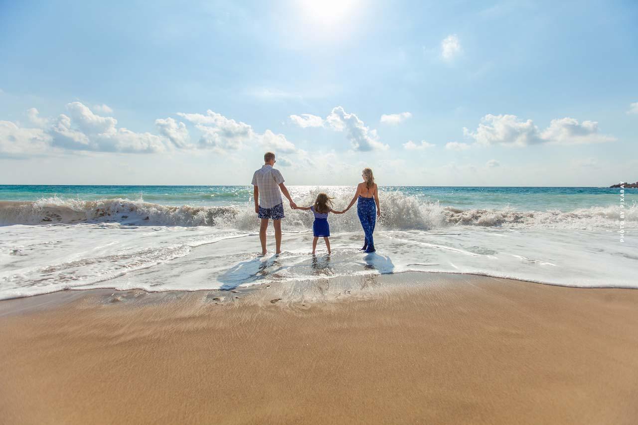 Vacaciones en España - sol, playa y mar