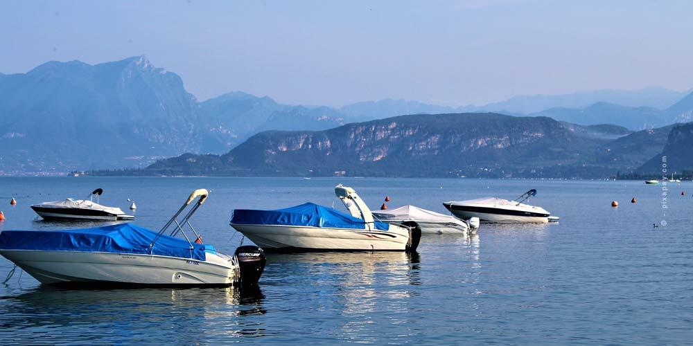 El lago más grande de Italia: Lago de Garda - Camping & Vacaciones