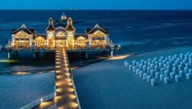 Vacaciones en Alemania: viaje a la ciudad & vacaciones en la playa
