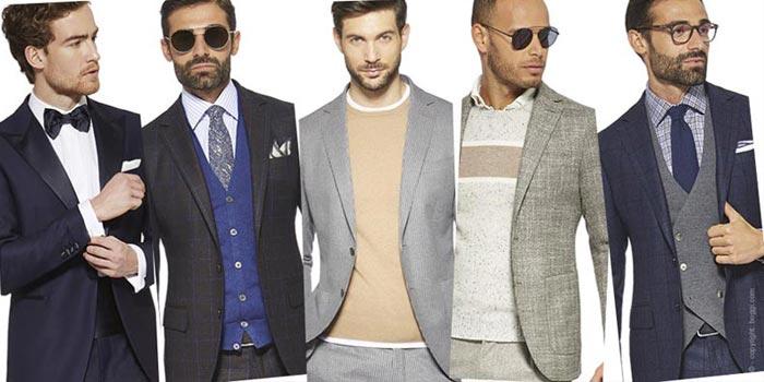 Trajes de hombre: ropa para hombres - tendencias y consejos