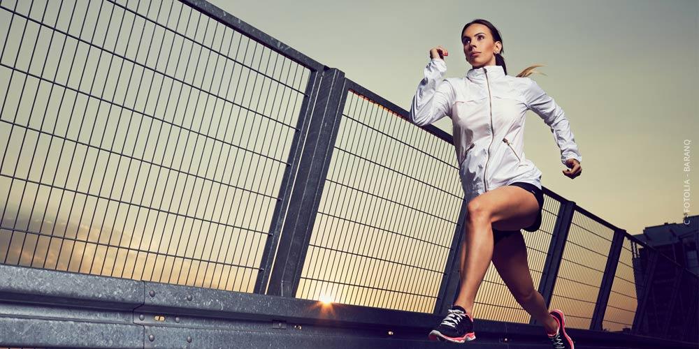Tiro de fitness: modelo, ubicación y fotógrafo - todo debe encajar perfectamente