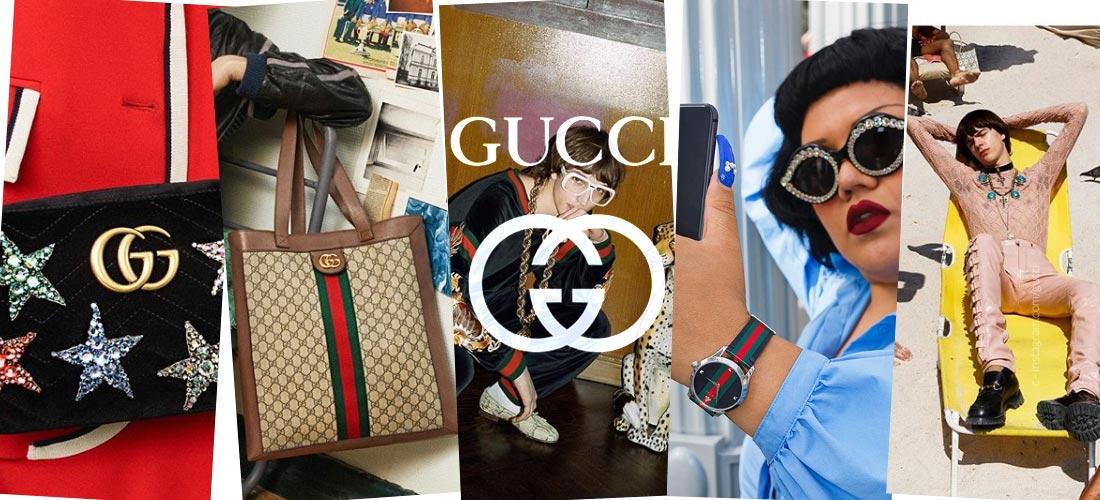 Gucci: Zapatos, cinturones y bolsos, accesorios de lujo para hombres y mujeres