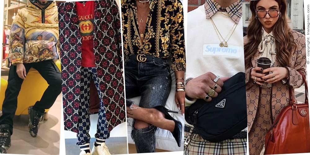 Marcas de lujo - Gucci, Chanel, Burberry & Co.