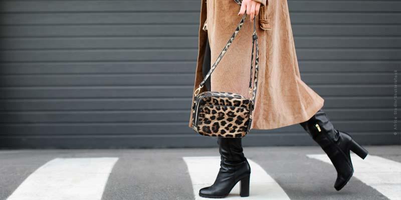 Patrones de animales: Tendencias de la moda - chaqueta, zapatos, abrigos y demás.
