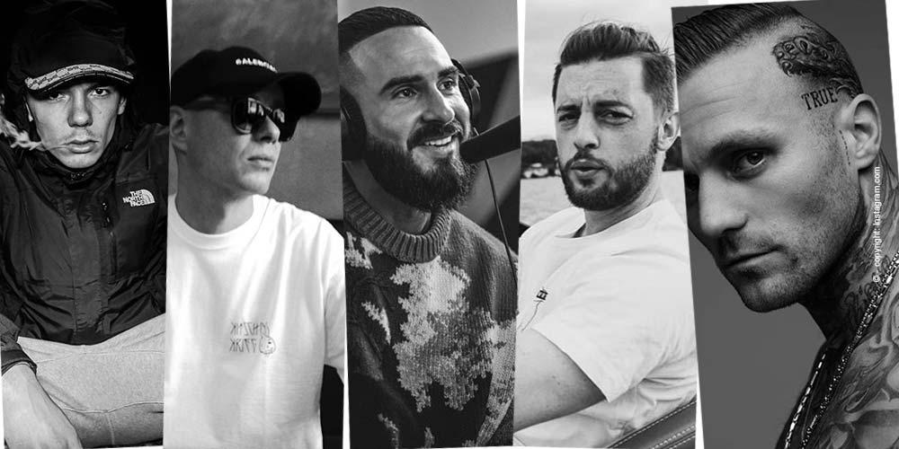 Top 5 - raperos conocidos de Alemania