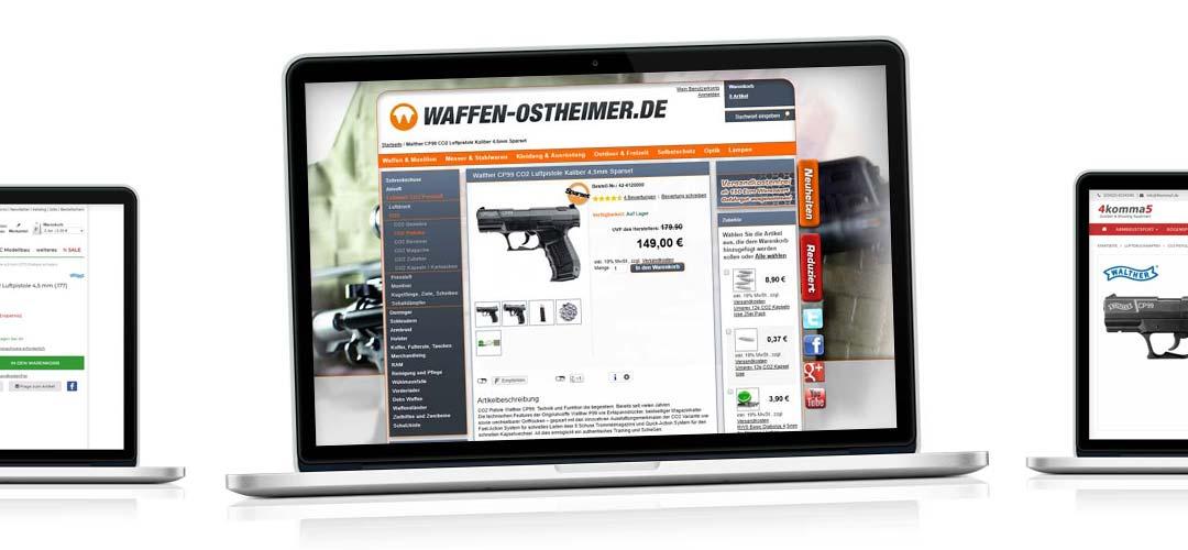 ¿Pistola de CO2 barata? Compre armas en línea: Comparación Walther P99