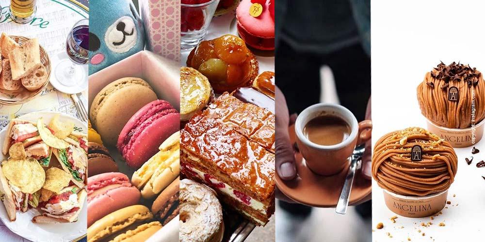 Los mejores cafés, salones de té y restaurantes en París