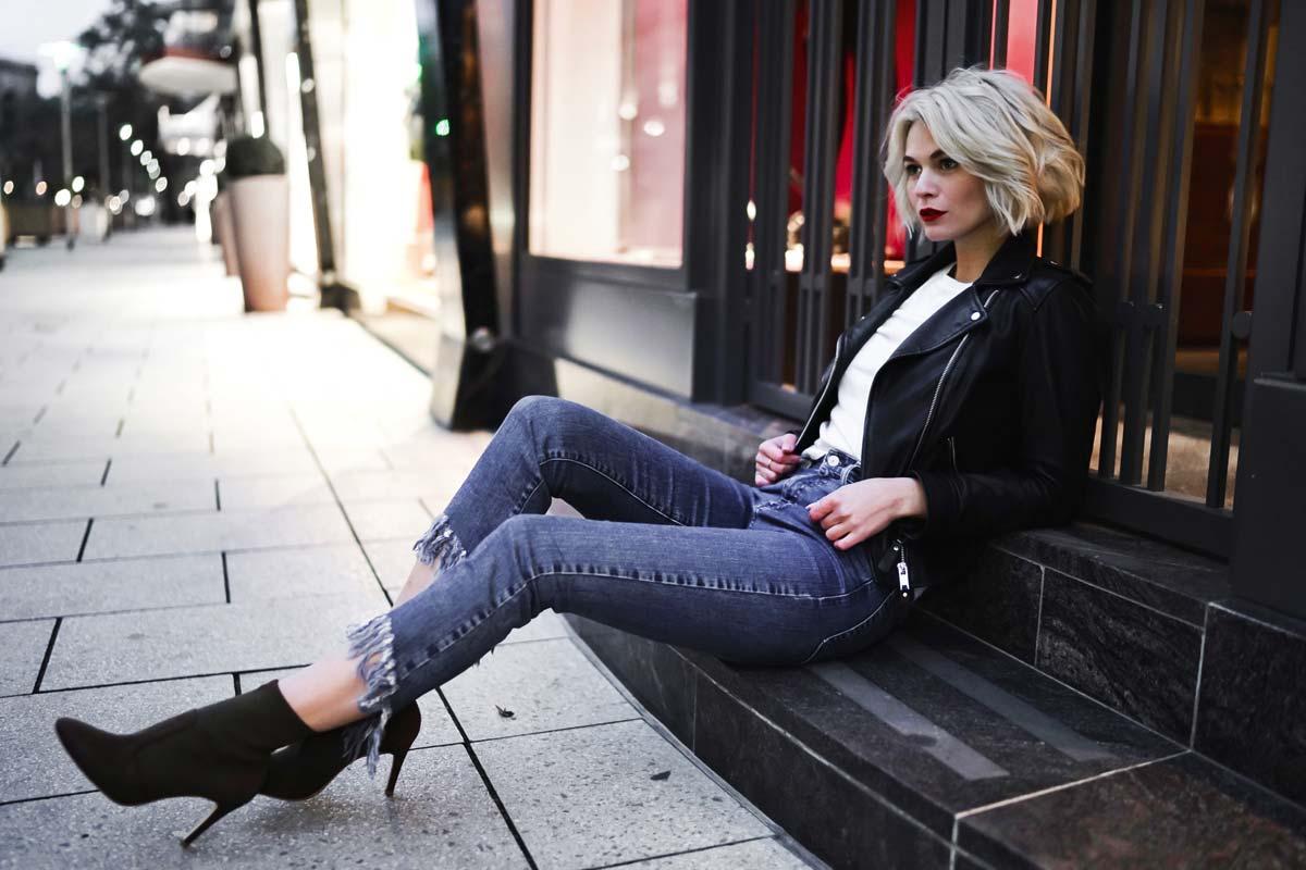 Entrevista con Louisa Mazzurana: moda, consejos para ser modelo y su perrita Cassie