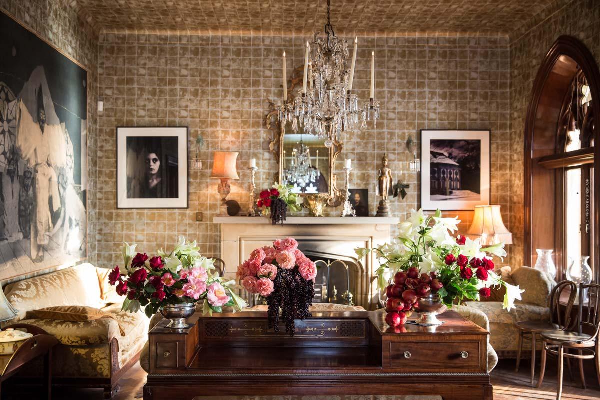 Gucci Décor: papel pintado, mobiliario y decoración en el revival de los 70