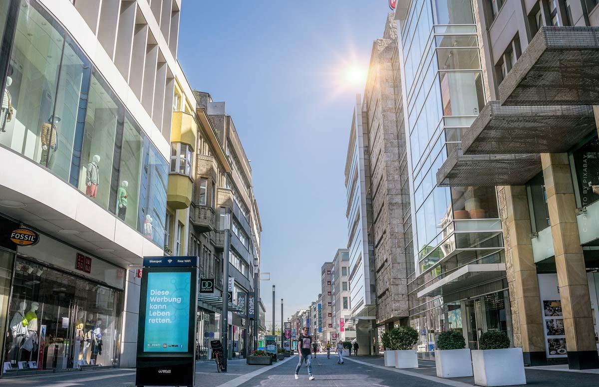 Compras de lujo en Düsseldorf (18 tiendas): Burberry, Versace, Armani y compañía.