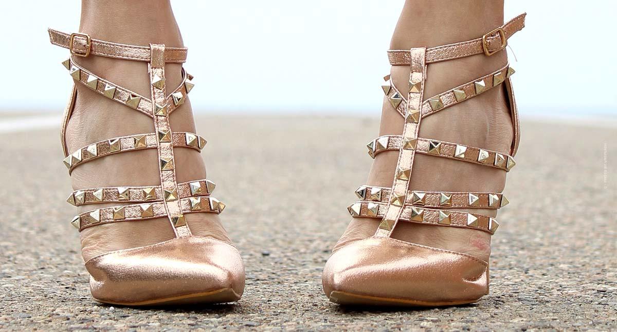 Zapatos Rockstud de Valentino: zapatos de tiras con tachuelas, slingbacks, zapatillas y bailarinas