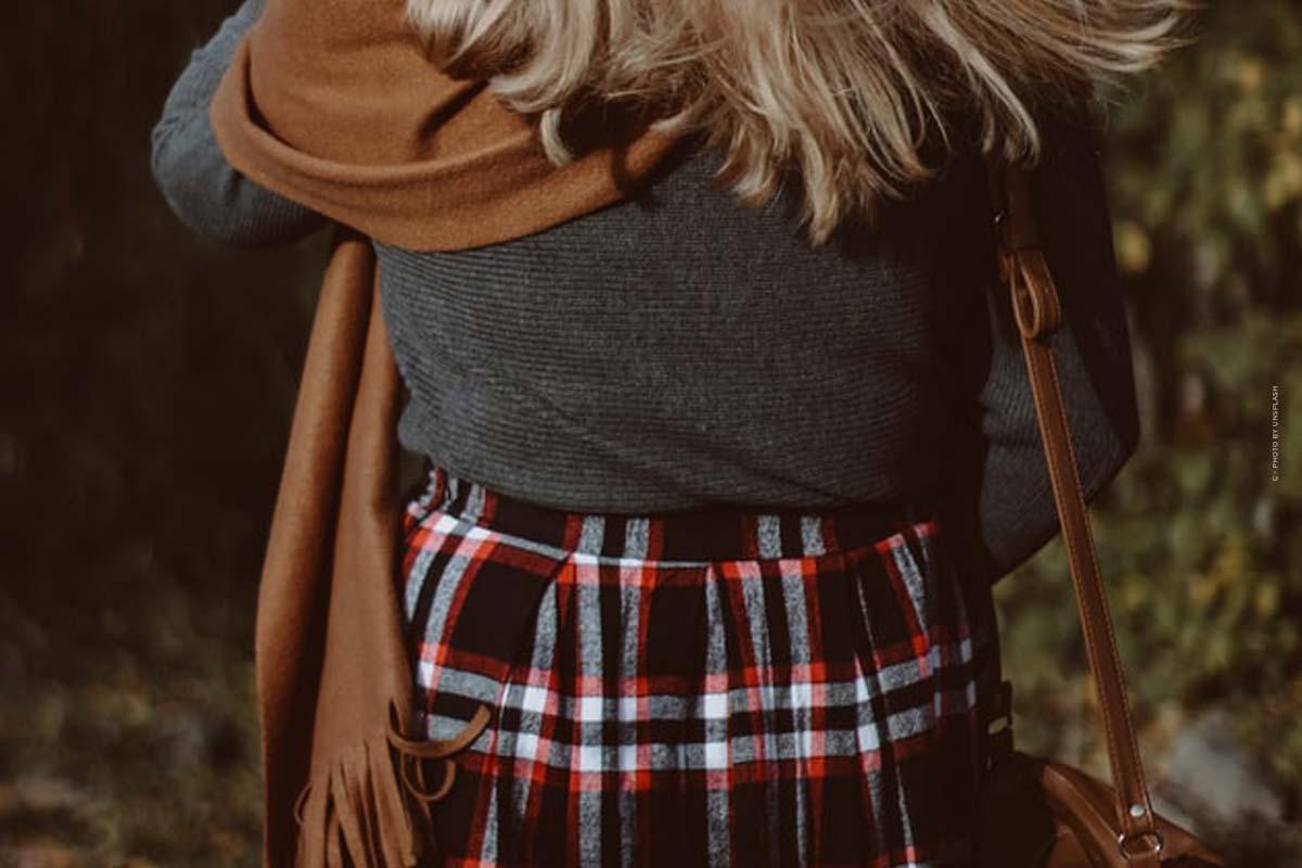 Mira las capas: Mantente caliente durante el invierno con las capas - consejos y trucos sobre telas, colores y co