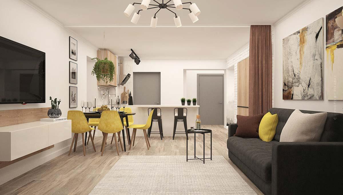 Piso: pequeños pisos con encanto para solteros, estudiantes y personas mayores