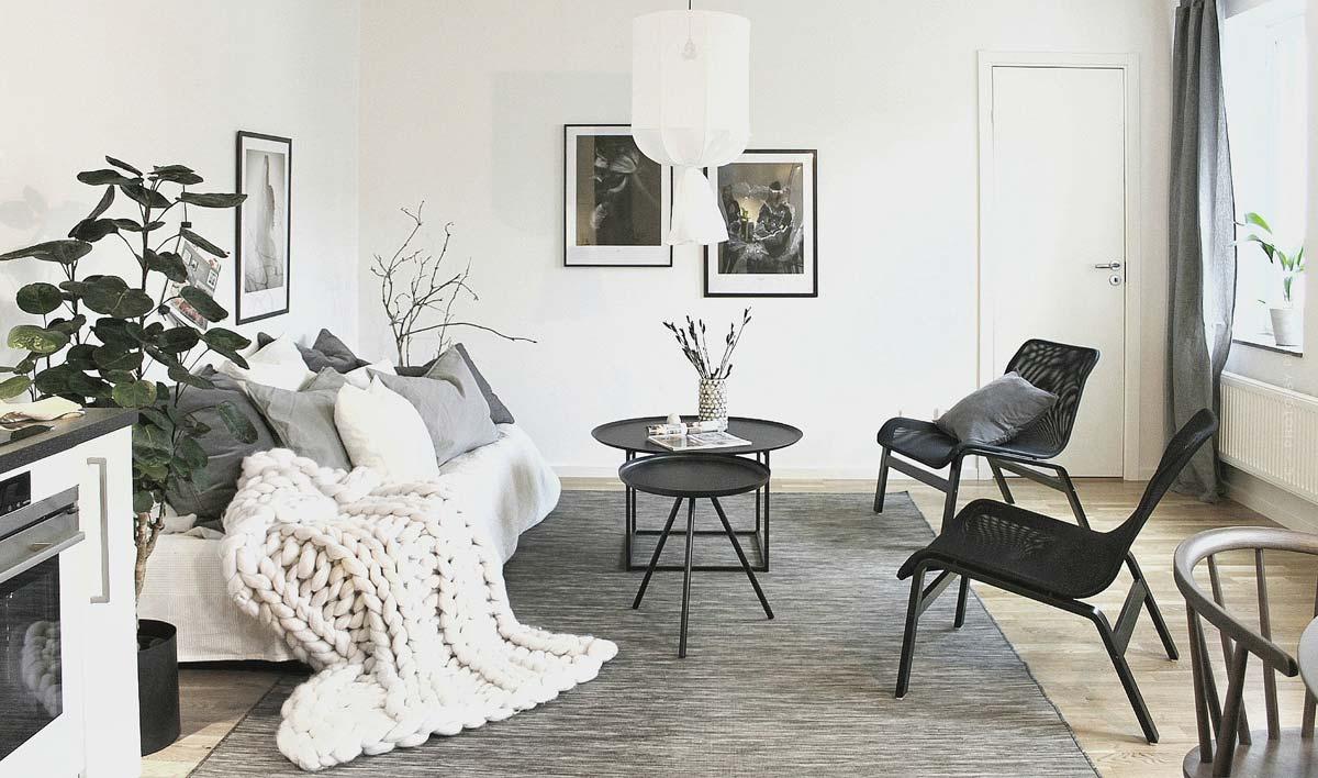 Estilo escandinavo: amueblar con el aspecto escandinavo de moda o estilo escandinavo, consejos e ideas