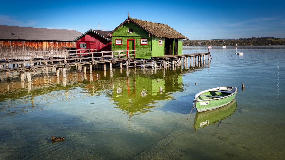 Vacaciones en el Ammersee: temperaturas, actividades y las ciudades más bellas