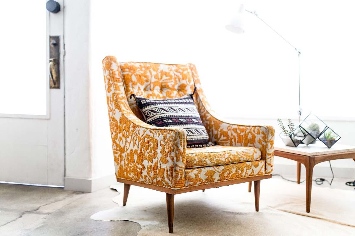 Sillón: sillón colgante, sillón reclinable o sillón de ala - elija su clásico o utilice el llamativo para la sala de estar & co.
