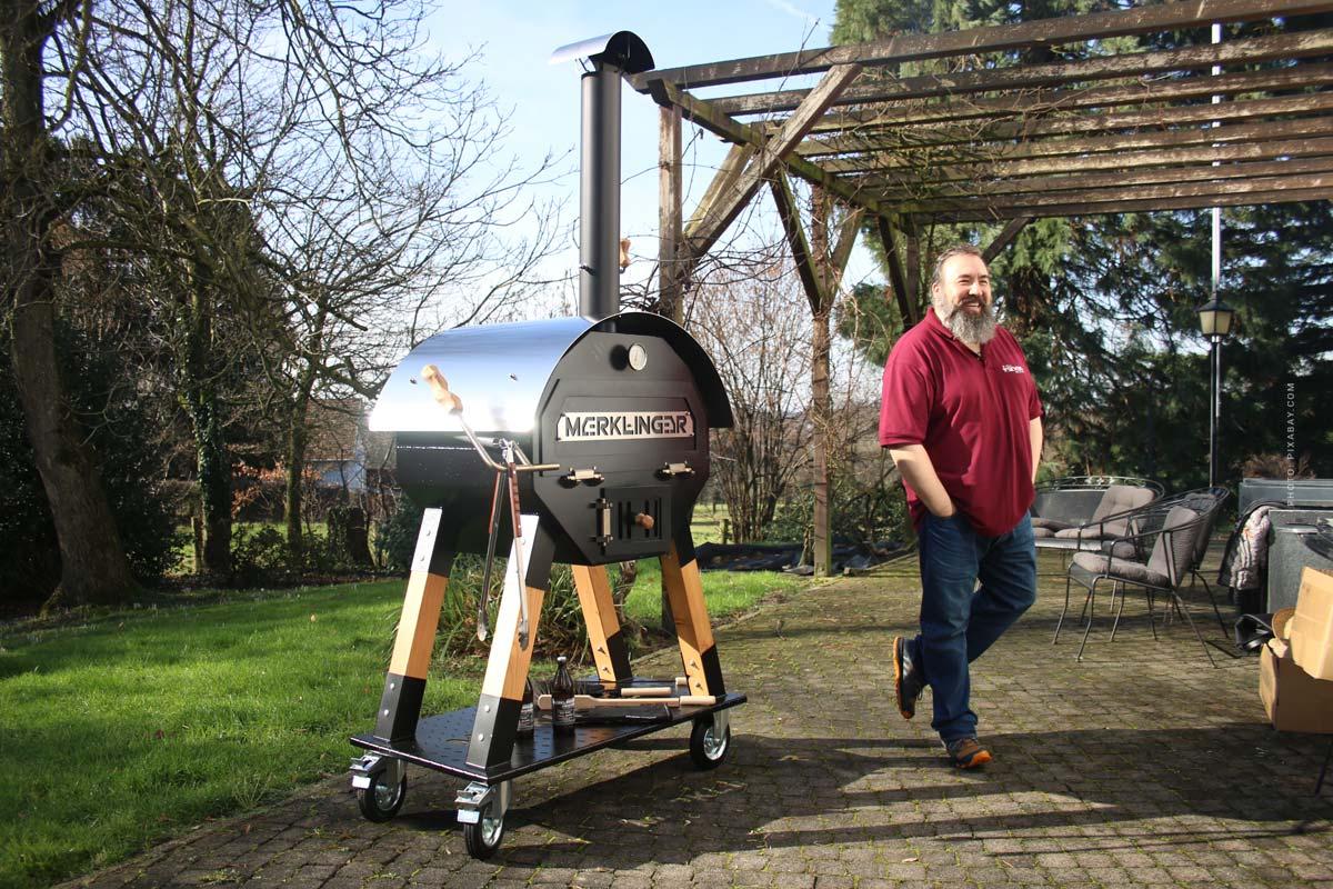Merklinger Grill & Wooden Oven: Carne, Pizza, Pan y Made in Germany - ¡Consejo del campeón del mundo de parrilla!