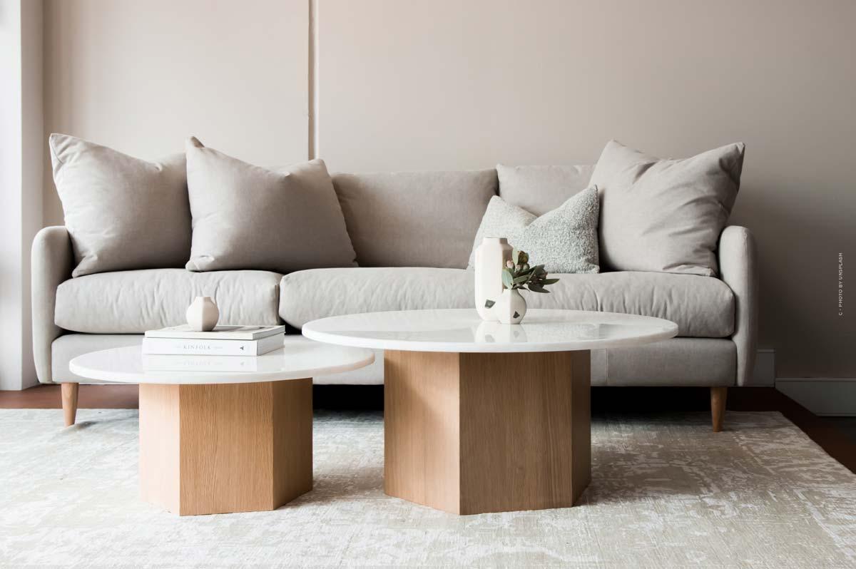 Muebles XXL: Desde sillas hasta sofás y muebles de baño: amueblar las habitaciones con habilidad