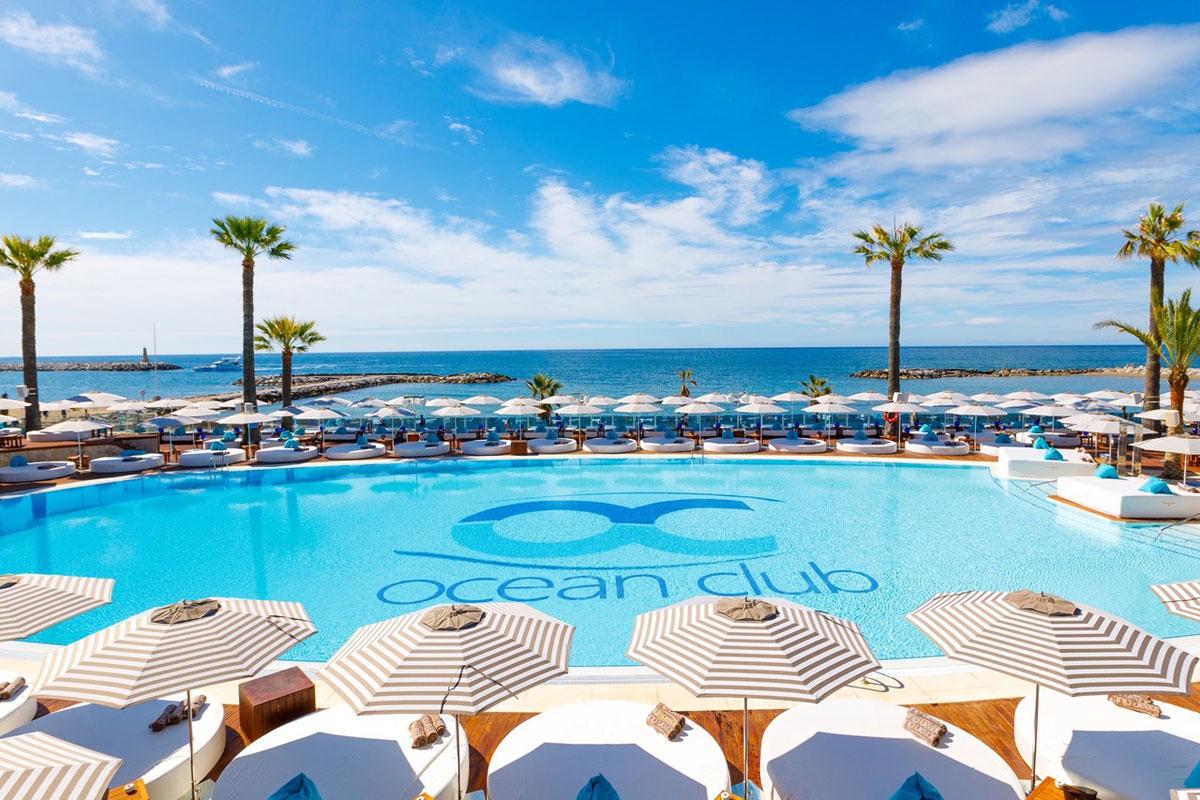 Ocean Club Marbella: City Beach Club, bebidas, DJs y piscina XXL!