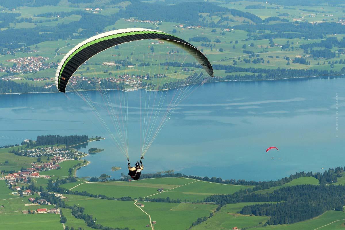 Vacaciones en el lago Forggensee: paseo en barco, parapente y baños termales - 6 consejos
